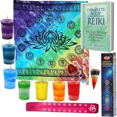 Reiki-Altar-Kit-Light-workers-kit-Learn-Reiki-Kit-Chakra-Energy-Book http://stores.ebay.com/Wiccan-Supply?_trksid=p2047675.l2563