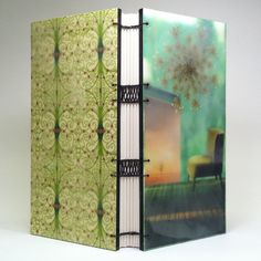 """""""Hush, Hold"""" : journals with encaustic covers"""