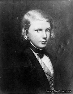 ~Victor Hugo as young boy