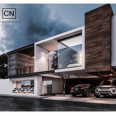 Check Out Today's Modern Custom Home Design Concept Render by our Friend @arqcarlosnunez -- #TagAFriend