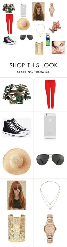 """""""Untitled #107"""" by mackenzie-marsinelli on Polyvore featuring J Brand, Converse, Toast, Linda Farrow, Prism, Michael Kors, Forever 21 and Burberry"""