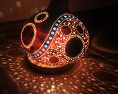 My gourd lamp