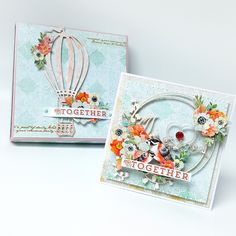 Ślubny zestaw z Mintay Papers Shabby Chic Cards, Heartfelt Creations, Card Maker, Paper Cards, Creative Cards, Stampin Up Cards, Mini Albums, Cardmaking, Crafty