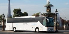 Paris airport transfers - the Air France shuttle from the airport, easy, not too expensive