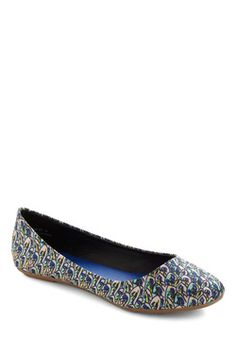 Feathers Where Your Feet Go Flat, #ModCloth