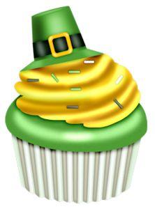st patrick s day cupcake clip art clip art st patrick s day