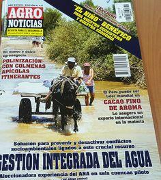 Título: Agronoticias, Año 38, No. 417 (31 Oct. 2015) /  Ubicación: FCCTP – Gastronomía – Tercer piso /