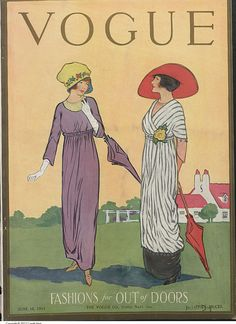 Cover of Vogue, June 15, 1911