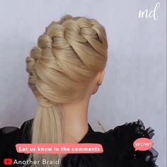 Hair Tutorials For Medium Hair, Curly Hair Styles Easy, Curly Hair Tips, Medium Hair Styles, Long Hair Styles, Cute Hairstyles For Short Hair, Braids For Long Hair, Elegant Hairstyles, Braided Hairstyles