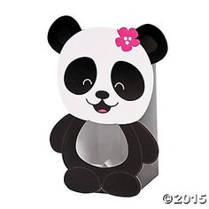 Panda Party Treat Boxes 12pk Party Supplies Canada - Open A Party