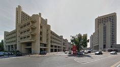 Fiera di Bologna - fair district - #architecture #googlestreetview #googlemaps #googlestreet #italy #bologna #brutalism #modernism