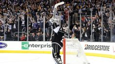 Jonathan Quick LA Kings Stanley Cup Win H 2012