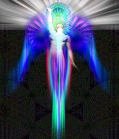 My Angels fill me with the energy and light of the Universe.