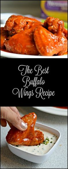These are the best Buffalo wings that you will try! The sauce only has three ingredients, but that is all it needs!