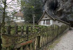 Ein mystischer Ort: die Einsiedelei St. Verena.
