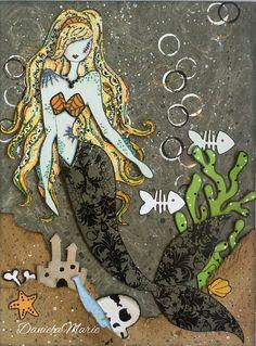 Spooky Sea Sallie doll <3 By Daniela Alvarado.
