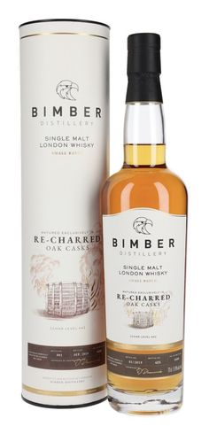 BIMBER RECHARRED CASK SINGLE MALT WHISKY, London, England
