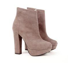 Platform Ankle Boots.
