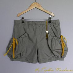 Tuto short à poches bouffantes (version adulte à adapter en version enfant)