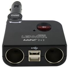 Lenmar SSPU2 Auto 2 Port 12V DC Auto Socket Duplicator Plus 2 USB Port by Lenmar. $14.61. Simultaneously charges and powers up to 4 electronic devices using 2 integrated USB ports and 2 built-in DC car adapter sockets. Lenmar's power accessories include portable chargers, power adapters & cable / tip sets. So whether it's powering your laptop & mobile phone or recharging camcorder & digital camera batteries, our accessories will keep you connected & powered on the go.
