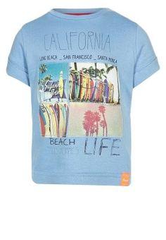 T-shirt imprimé - ciel bleu