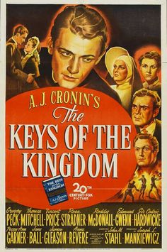 The Keys of the Kingdom posters for sale online. Buy The Keys of the Kingdom movie posters from Movie Poster Shop. We're your movie poster source for new releases and vintage movie posters. Netflix Movies, Old Movies, Vintage Movies, God Save The Queen, Kingdom Movie, Cinema Posters, Movie Posters, F Pictures, Drama