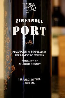 Terra d'Oro Zinfandel Port $15- A wonderful way to end the day