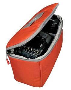 Clik Elite Small Camera Capsules (Red) : No more wrapping your camera in your fleece jacket, or stuffing your lens into a hat. The Camera Capsule is simple by design, to fit nicely in your favorite pack, duffle or bag.