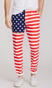 If you need to find me on the 4th of July, I'll be wearing these bad boys. So much freedom, it hurts.