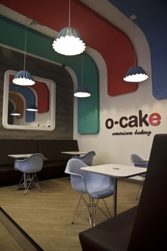 O-CAKE #2 (Centro Comercial LOS MOLINOS) by Plasma Diseño , via Behance #light #ceiling