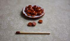 Miniature biscuits 1:12 - pikkuisia täytekeksejä :-)