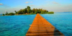 Thousand Islands in indonesia