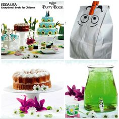Throw a #BackToSchool #Frozen Fever Style Party With The Help of Disney Frozen Fever Party Book by @eddausa http://amzn.to/1IsbmV4  #disney #frozenfeverparty #frozenfevercake #backtoschoolparty #arendelle #springnectar #lemonbundtcake #olaf #partyidea #childrensbooks #eddausua