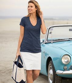 #LLBean: Ocean Point Skirt