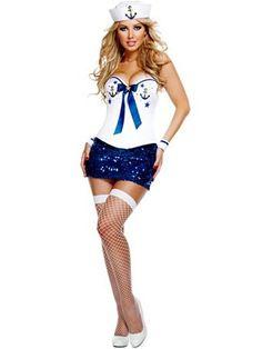 Women's Deluxe Sexy Signature Sailor Costume