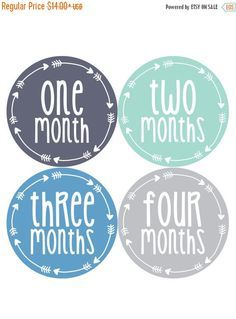 baby boy month stickers monthly baby sticker monthly baby stickers