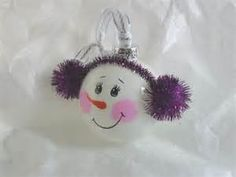 ... snowman christmas ornament