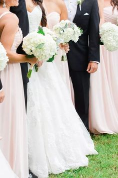 White Wedding Bouquets | Ailyn La Torre Photography | see more at http;//fabyoubliss.com