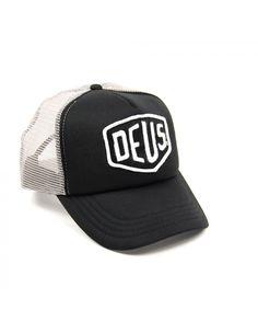 DEUS Baylands Trucker cap - Black-Grey