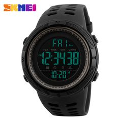 We love it and we know you also love it as well SKMEI Chronograph Sports Watches Men Double Time Countdown LED Digital Watch Military Waterproof Wristwatch Alarm Clock 1251 just only $9.99 with free shipping worldwide  #menwatches Plese click on picture to see our special price for you