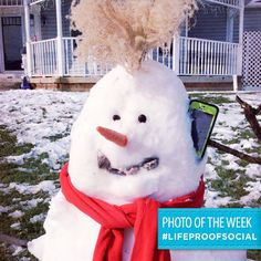 "Congratulations to our #LifeProofSocial Challenge Photo of the Week Winner Julie Forish for her photo submission named, ""Dude, I Got to Take This Call."""