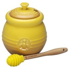 Le Creuset Honey Pot was a gift from my sister. I do not know how I lived so long without one.