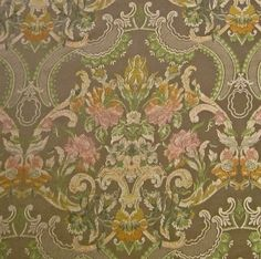 Just listed: Breathtaking Victorian Woven Brocade Upholstery Drapery Fabric in Subtle Sophisticated Colors