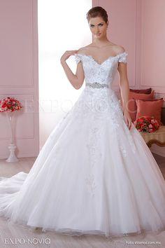 Resultado de imagen para vestidos de novia corte de princesa