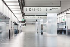 6 | Elegant or Illegible? Vienna Unveils Its Custom-Designed Airport Signage | Co.Design: business + innovation + design