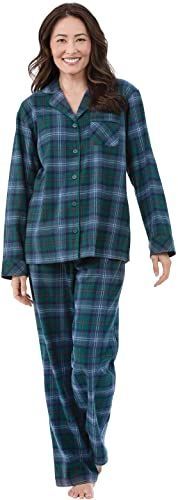 Iris /& Lilly Flannel Check Top pigiama Donna