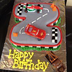 Little Cars cake.