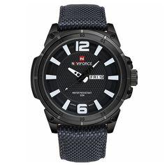 NAVIFORCE 9066 Fashion Quartz Men Watch Military Waterproof Sport Wrist Watch