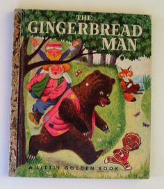 Little Golden Book, THE GINGERBREAD MAN told by Nancy Nolte, illustrated by Richard Scarry. light cover wear, see picture. name in place for it. No other wear, rips or writing. In good condition. | eBay!