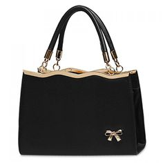 Bowknot Design Tote Bag For Women